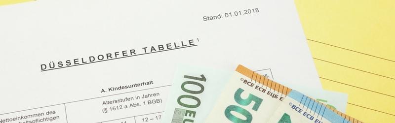 Düsseldorfer Tabelle 2018