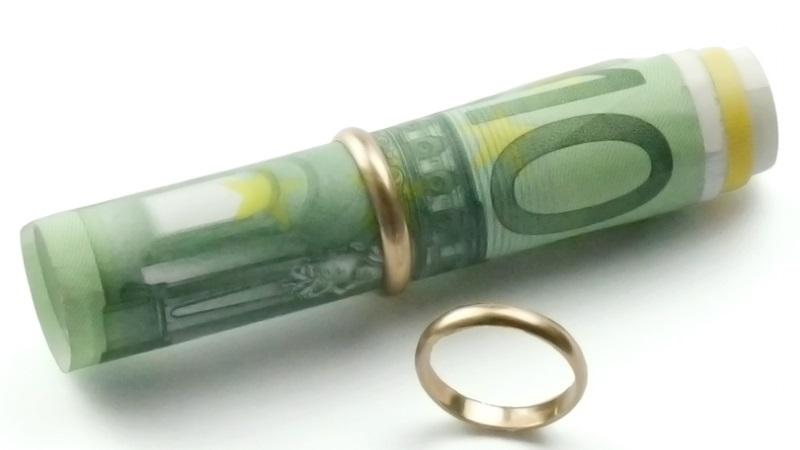 Aufteilung der Gerichtskosten bei der Scheidung